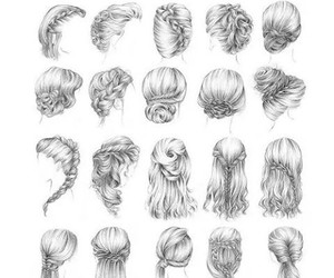 hair, goals, and braid image