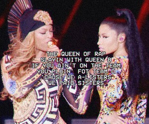 flawless, nicki minaj, and beyoncé image