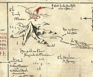 lord of the rings, LOTR, and map image