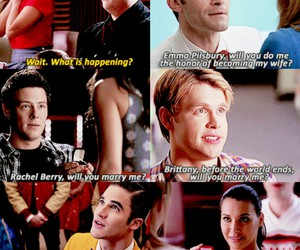 funny, glee, and happiness image