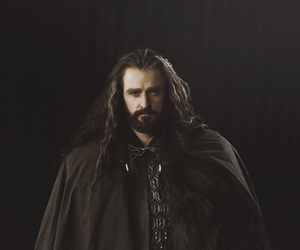dwarf, lord of the rings, and thorin image
