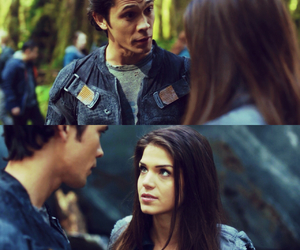 marie avgeropoulos, the 100, and bellamy blake image