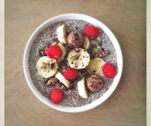 baking, breakfast, and chia image