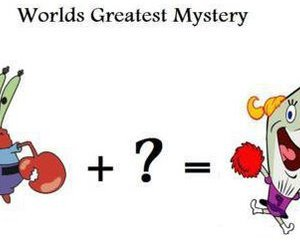 funny, spongebob, and mystery image