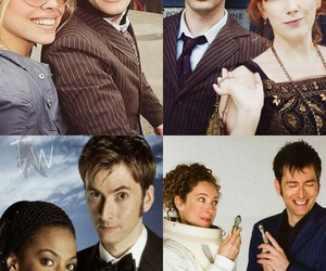 david tennant, doctor who, and Martha image