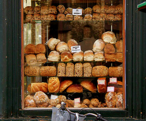 bread, bakery, and shop image