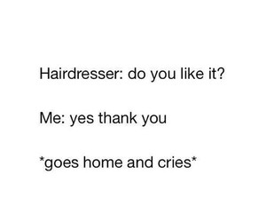 hair, hairdresser, and funny image