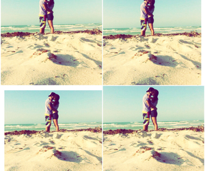 beach, boyfriend, and day image