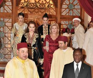 morocco, Queen, and caftan image