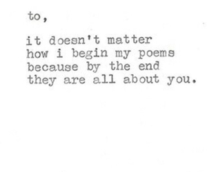 poem, quote, and love image