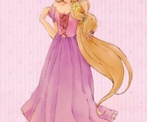 blond, ino yamanaka, and disney image