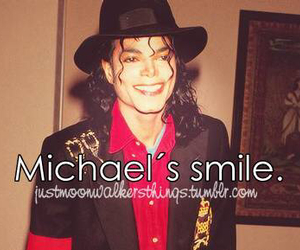 michael jackson, smile, and love image