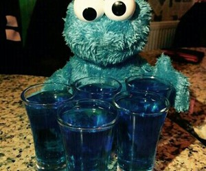 alcohol, blue, and child image