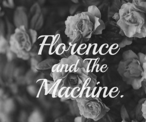 florence and the machine, flowers, and band image