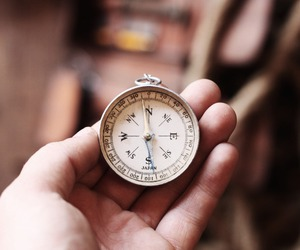 adventure, compass, and travel image