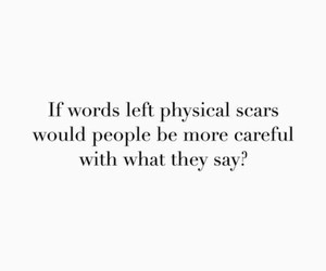 quote, scars, and words image