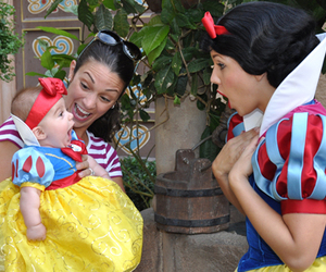 baby, snow white, and disney image