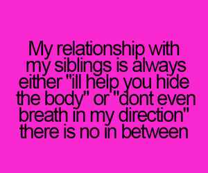 siblings, sisters, and brother image