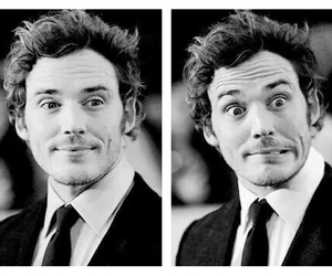 actor, funny faces, and sam claflin image