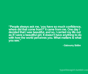 confidence, true beauty, and typelikeagirl image