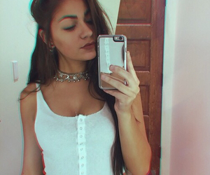 andrea russett, girl, and icon image