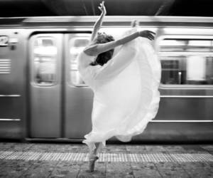 ballet, dance, and train image