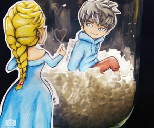 animation, blue, and boy image