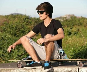 boy, Hot, and skate image