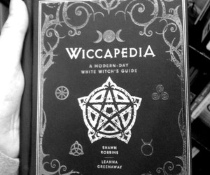 wiccapedia, book, and magic image