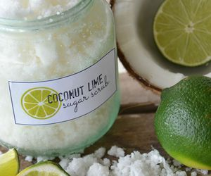 coconut, lime, and relaxing image