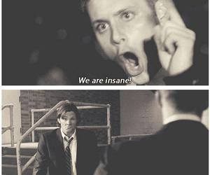 brothers, insane, and spn image