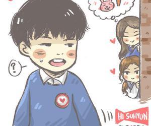Ikon, jiwon, and suhyun image