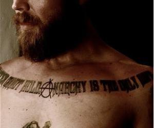 ryan hurst, opie, and sons of anarchy image