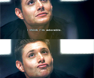 supernatural, adorable, and Jensen Ackles image