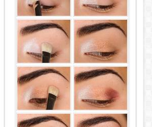 diy, makeup, and shadow image