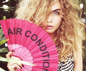 model, cara delevingne, and pink image