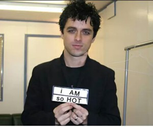 billie joe armstrong, green day, and so hot image