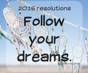 Dream and resolution image