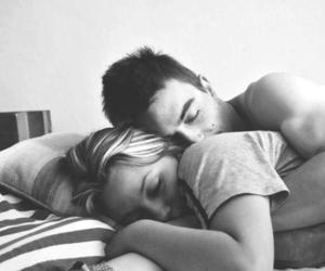 couple, sleep, and cute image