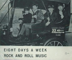 band, old, and poster image