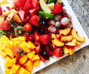 berries, colorful, and healthy image