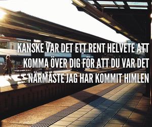 svenska, kärlek, and helvete image