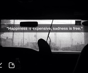 grunge, happiness, and quote image