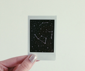 constellation, pale, and polaroid image