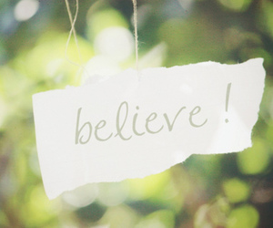 believe, Paper, and text image