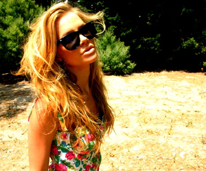 girl, blonde, and summer image