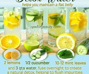 healthy, health, and detox water image