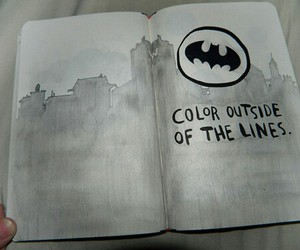 batman and wreck this journal image