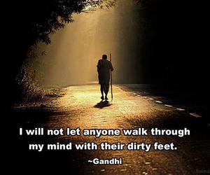 quote, gandhi, and inspiration image