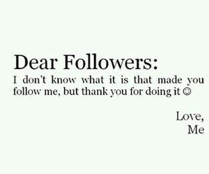followers and thank you image
